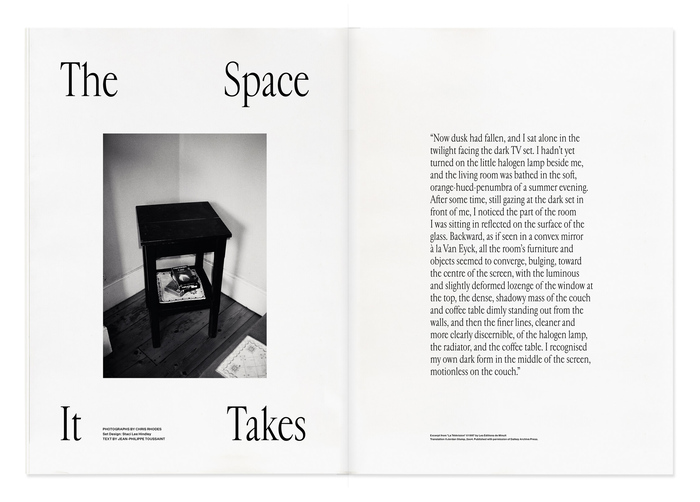 Objection magazine, Volume I: The Living Room 8