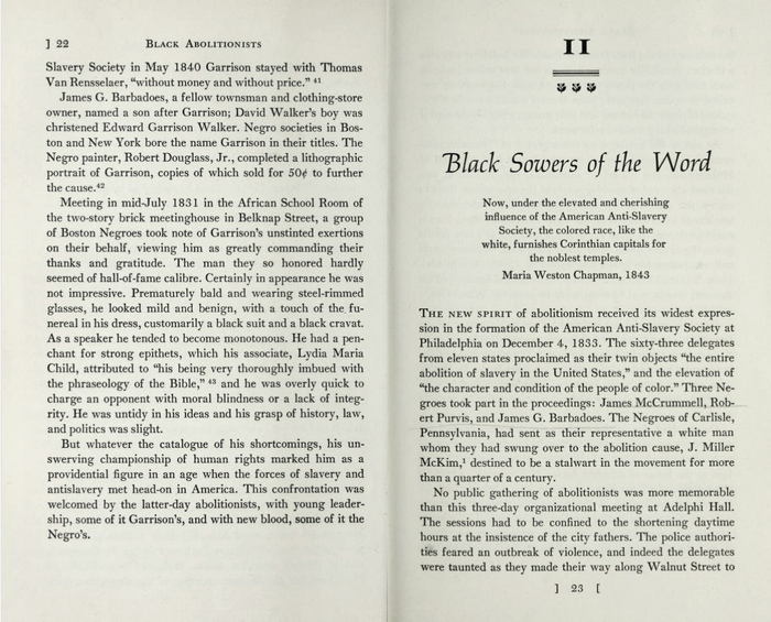 Opening page from the second chapter.