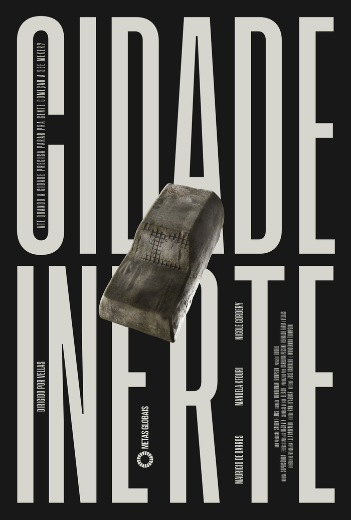 Cidade Inerte (2020) posters and titles 1