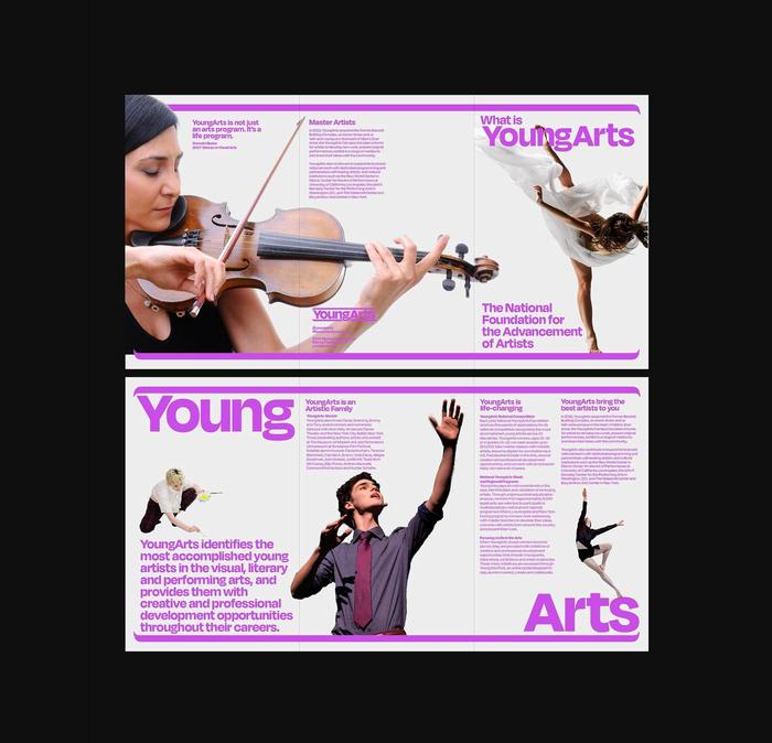 YoungArts 40th anniversary brand refresh 4