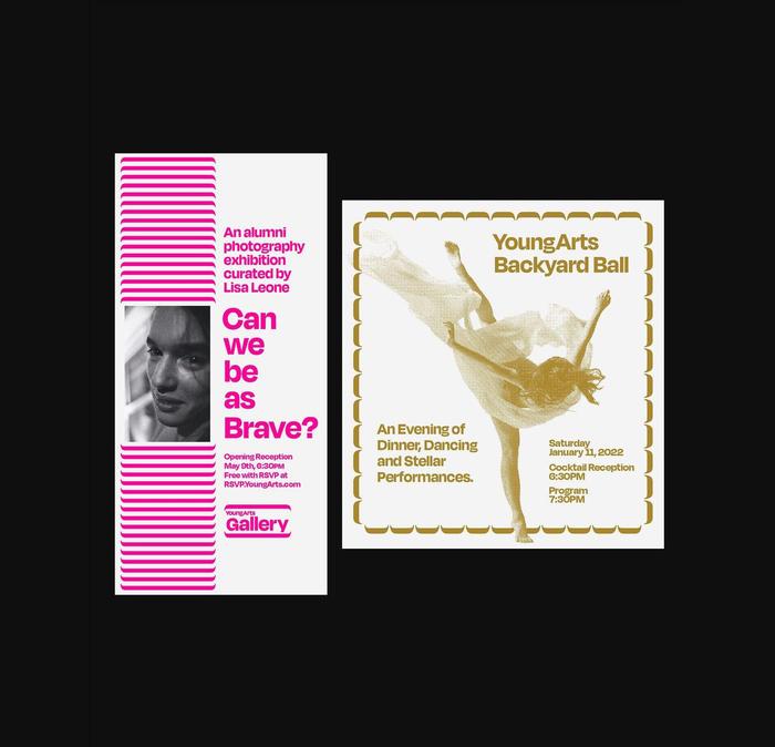 YoungArts 40th anniversary brand refresh 5