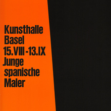 <cite>Junge spanische Maler</cite>, Kunsthalle Basel (1959)