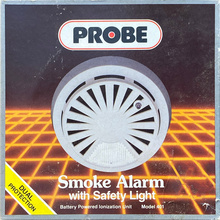 Probe Smoke Alarm with Safety Light packaging