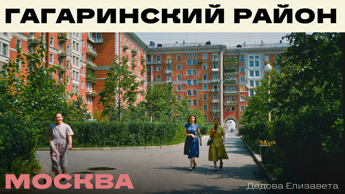 Merch for Moscow's Gagarinsky district (fictional) 2