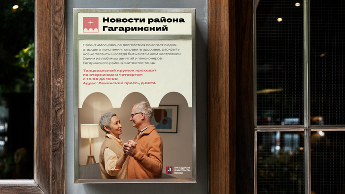 Merch for Moscow's Gagarinsky district (fictional) 4