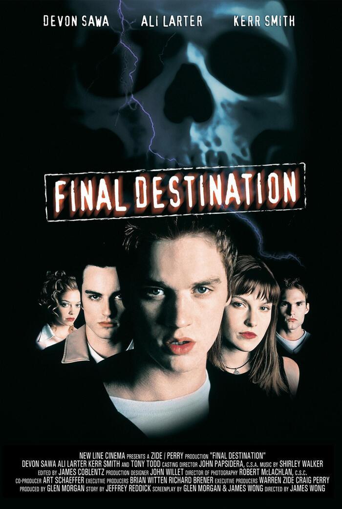 Final Destination (2000) movie poster