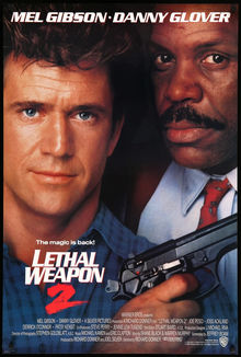 <cite>Lethal Weapon 2</cite> (1989) movie poster