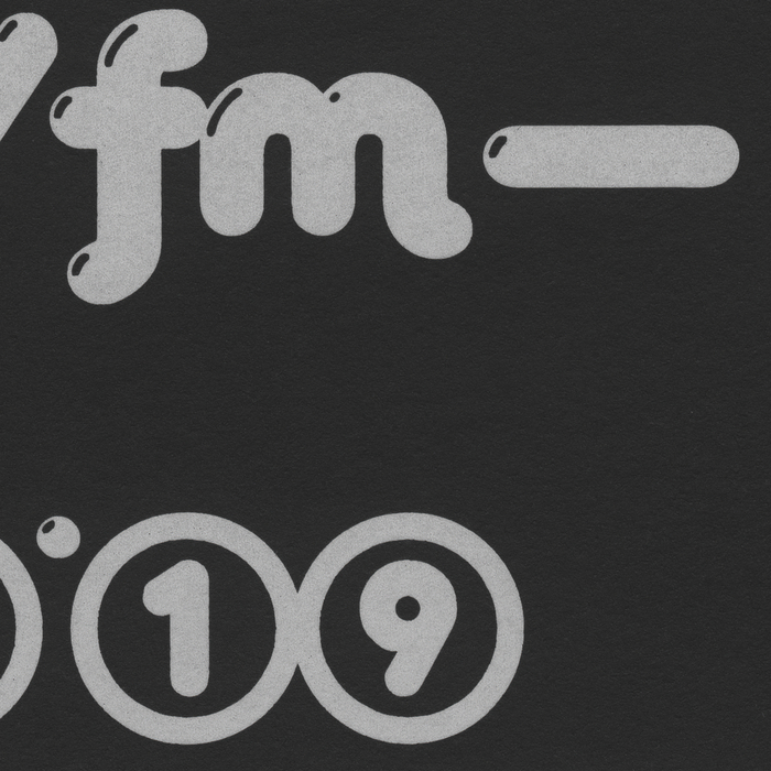 Intra Hora radio show flyer 2