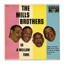 The Mills Brothers – <cite>In A Mellow Tone</cite> album art