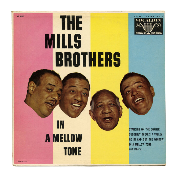The Mills Brothers – In A Mellow Tone album art