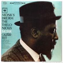 Thelonious Monk Quartet – <cite>Monk's Dream</cite> album art