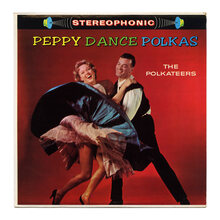 The Polkateers – <cite>Peppy Dance Polkas</cite> album art