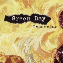 Green Day – <cite>Insomniac</cite> album art and singles covers