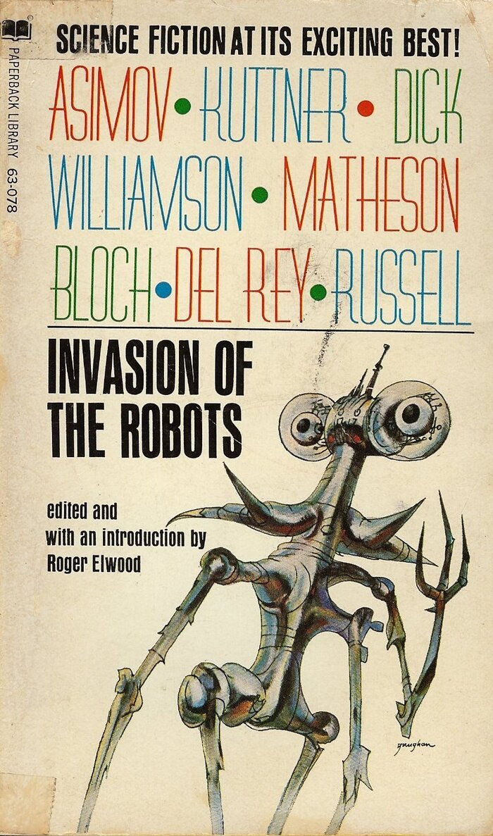Invasion of the Robots by Roger Elwood (ed.) 1