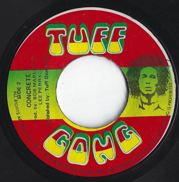 "Bob Marley & The Wailers – ""Jah Live"" / ""Concrete"" (1975)."
