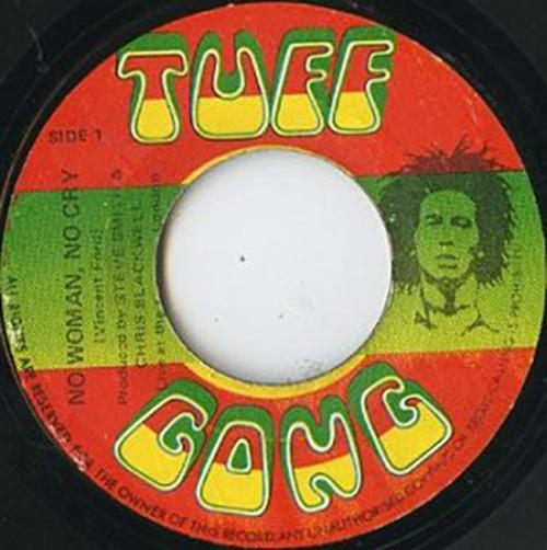 """Bob Marley & The Wailers – """"No Woman No Cry"""" (1975)."""