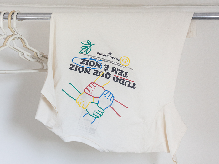 """Tudo Que Nóiz Tem É Nóiz"" T-shirt 1"