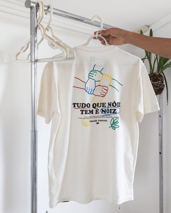 """Tudo Que Nóiz Tem É Nóiz"" T-shirt 4"