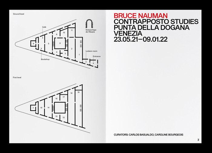Bruce Nauman: Contraposto Studies 4