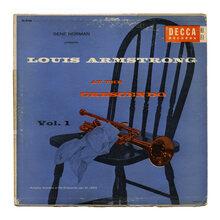 Louis Armstrong – <cite>At the Crescendo</cite> album art