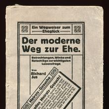 <cite>Der moderne Weg zur Ehe</cite> by Richard Jus