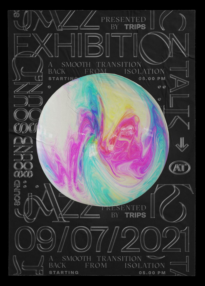 A Smooth Transition Back from Isolation exhibition poster 2