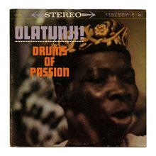 Babatunde Olatunji – <cite>Drums Of Passion</cite> album art