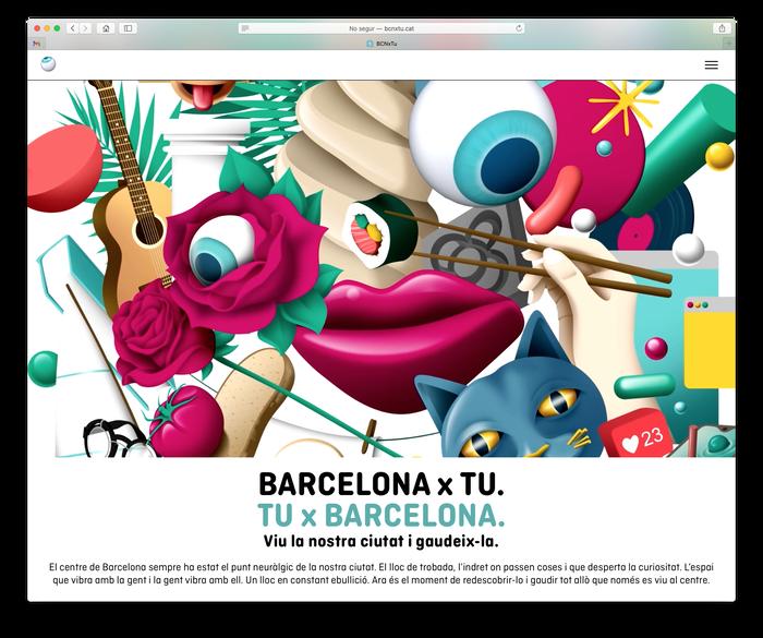 Barcelona x tu. Tu x Barcelona 6