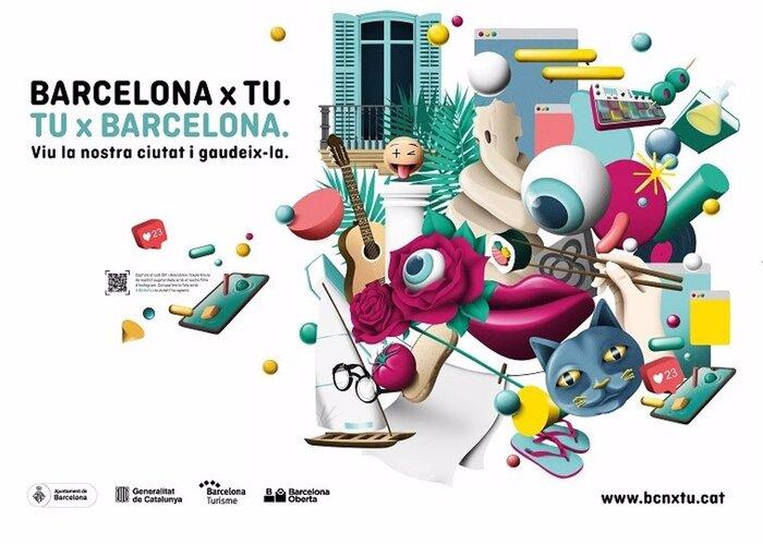 Barcelona x tu. Tu x Barcelona 1
