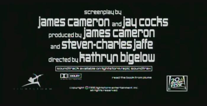 Strange Days (1995) trailer and titles 12