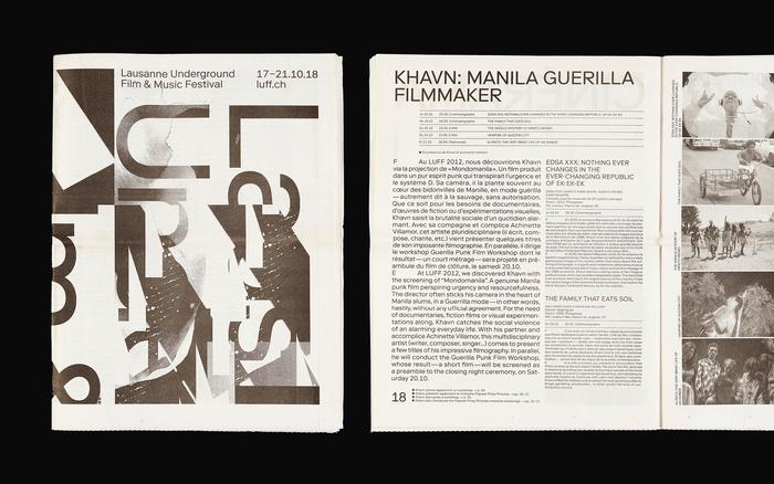 Festival booklet.