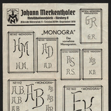 Johann Merkenthaler leaflet (1930s)