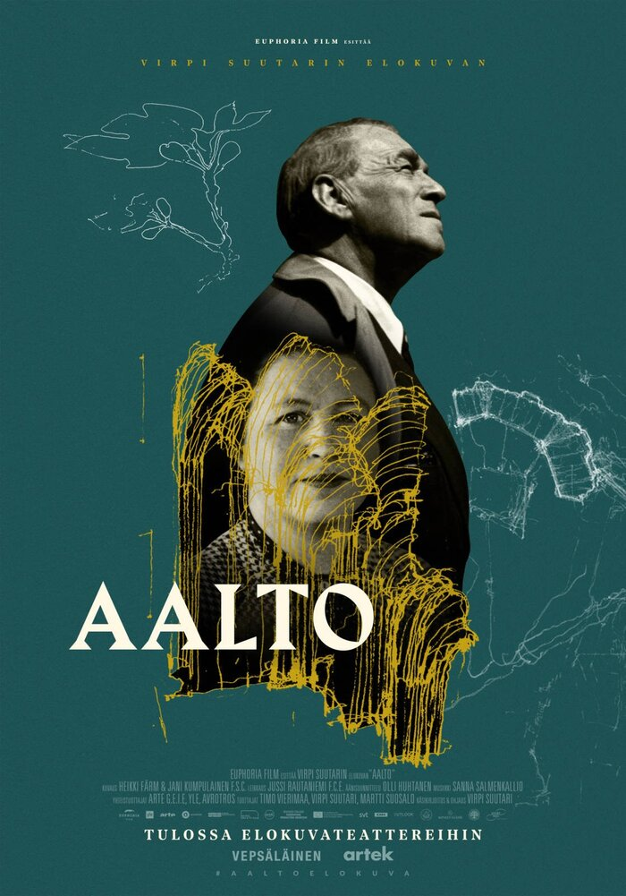Aalto (2020) movie posters and DVD cover 1