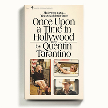 <cite>Once Upon a Time in Hollywood</cite> book cover