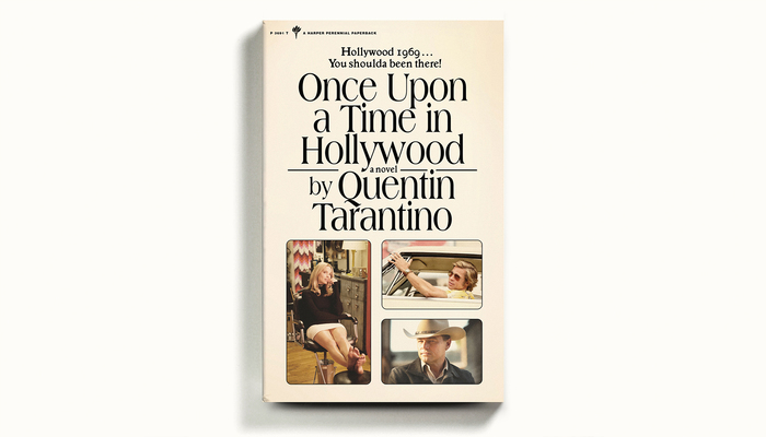 Once Upon a Time in Hollywood book cover 1