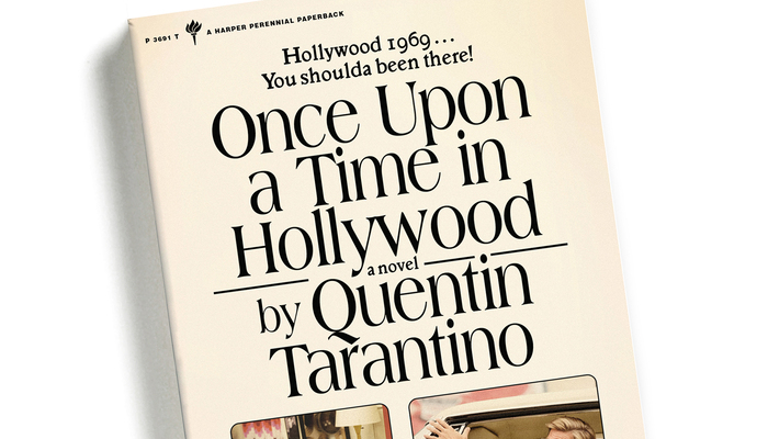 Once Upon a Time in Hollywood book cover 2