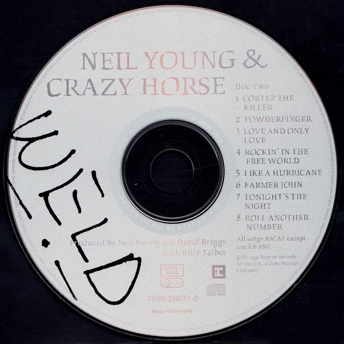 Neil Young & Crazy Horse – Weld album art 4