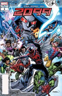 Marvel 2099 comic books