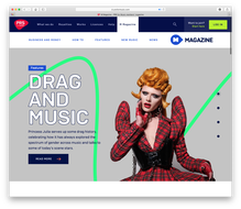 PRS for Music website