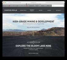 Champion Iron website