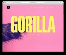 Gorilla Studio visual identity