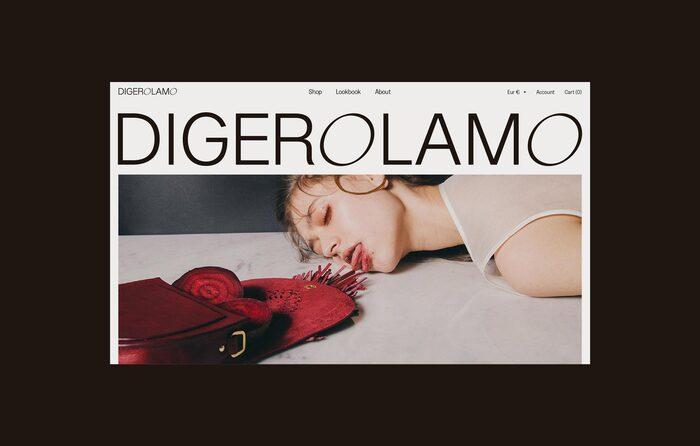 Digerolamo visual identity & website 1