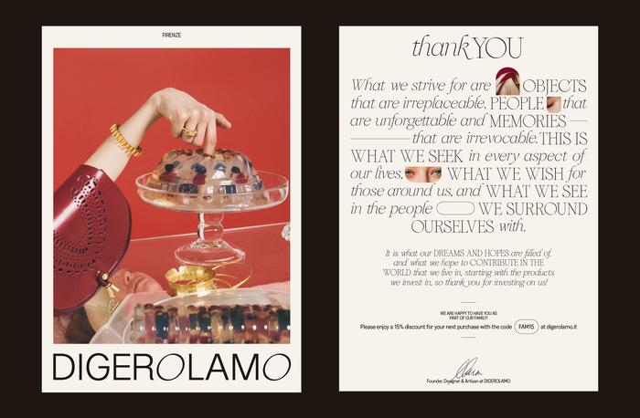 Digerolamo visual identity & website 2