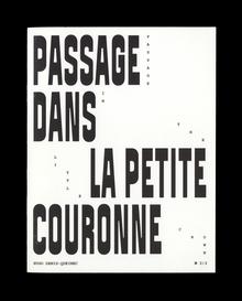 <cite>Passage dans la Petite Couronne</cite> by Hugo Denis Queinec