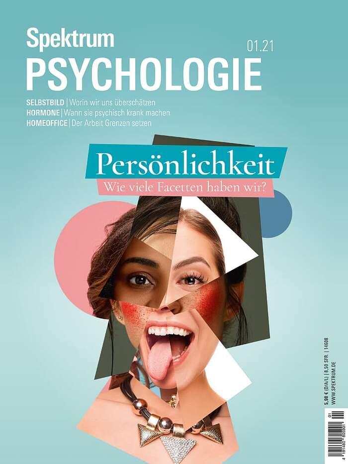 Spektrum Psychologie magazine covers 4