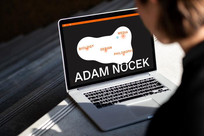 Adam Nocek website 3