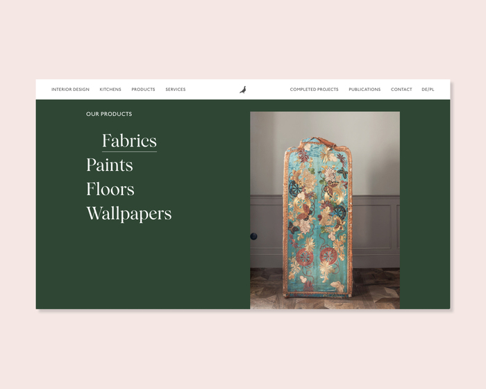 Colombe website 2