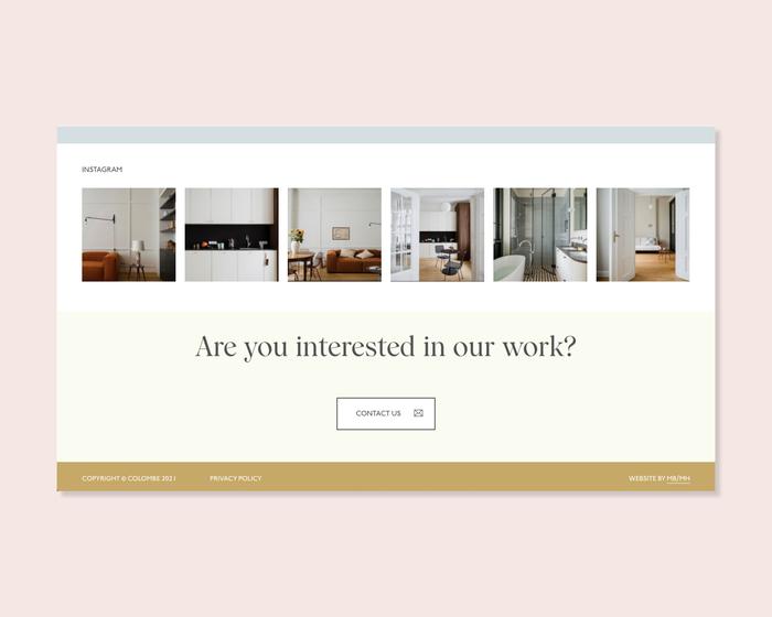 Colombe website 3