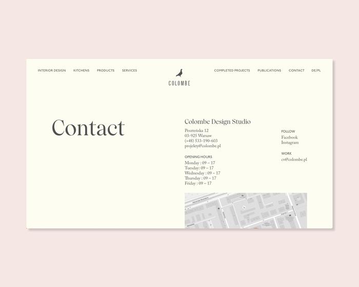 Colombe website 6