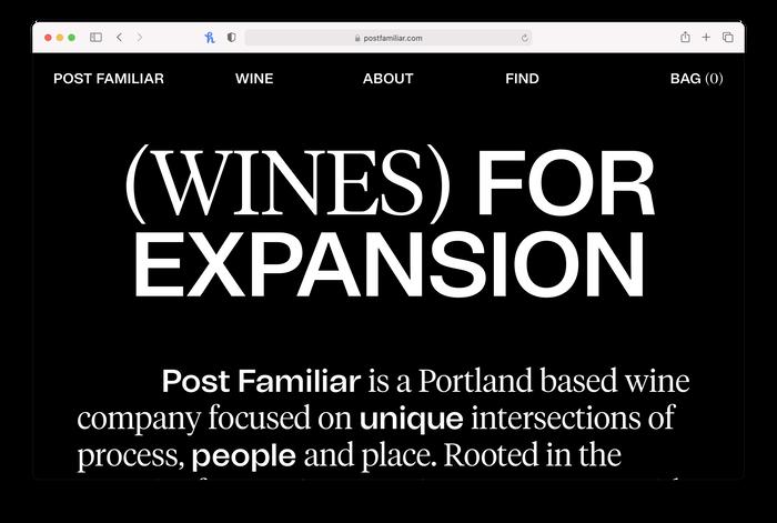 Post Familiar wine company 2